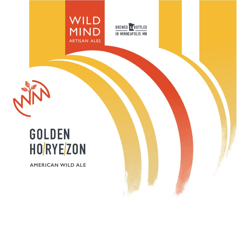 Wild Mind Ho/rye/zon American Wild Ale is set for release on March 28 at 4pm