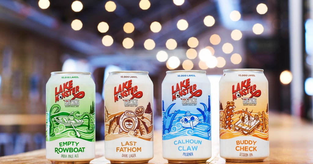 Lake Monster Brewing is releasing cans this October // Photo courtesy of Lake Monster Brewing
