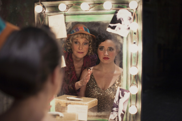 Michelle Barber as Mama Rose and Cat Brindisi as Gypsy Rose Lee // Photo by
