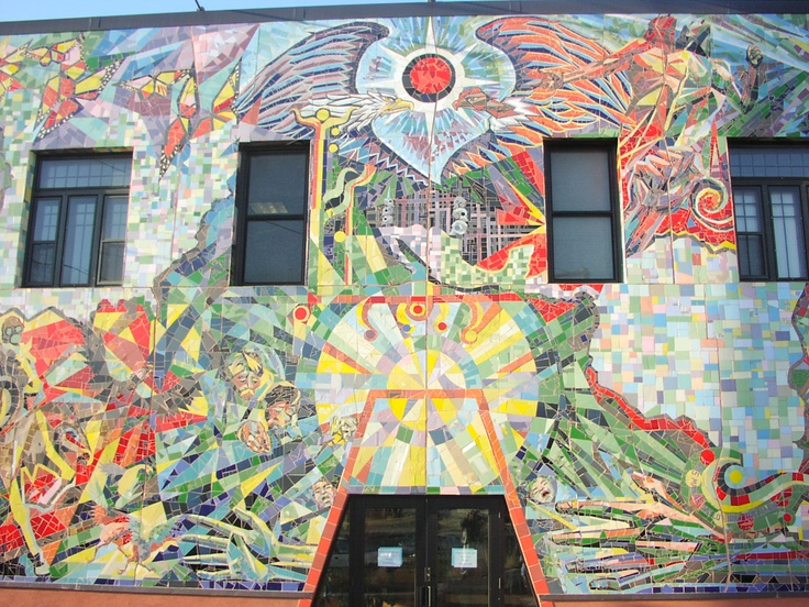 Mosaic of the Americas, in South Minneapolis, is one of dozens of public artworks included on Start Seeing Arts' interactive map // Photo by MN Original