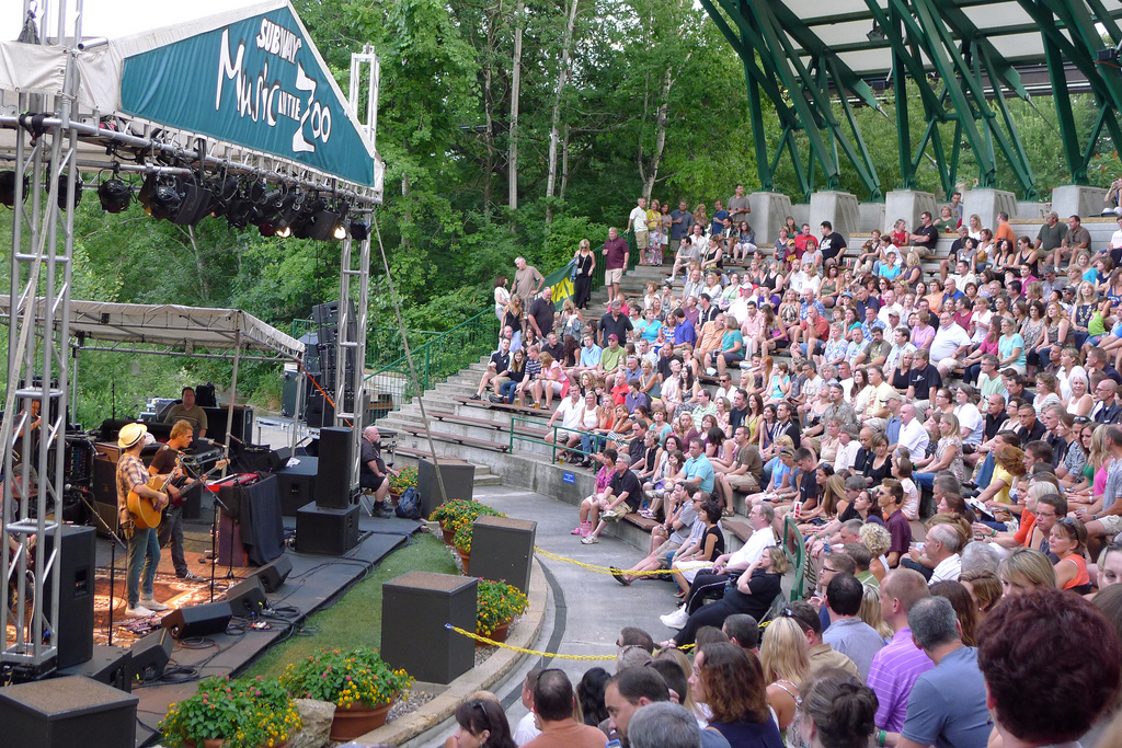 Music in the Zoo returns to the Minnesota Zoo Amphitheater for a 24th year this summer // Photo by Kevin Gilmore