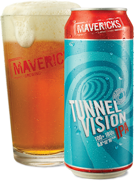 Mavericks Brewery, which opened in 2014, was founded with a focus on sustainability. They hope that making Tunnel Vision IPA with high-purity recycled water will raise public awareness and help people see it as a safe way