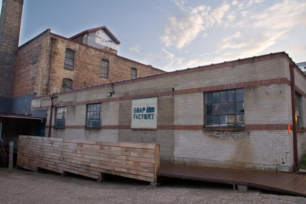 Renovations to The Soap Factory will begin late September // Photo via The Soap Factory's Facebook