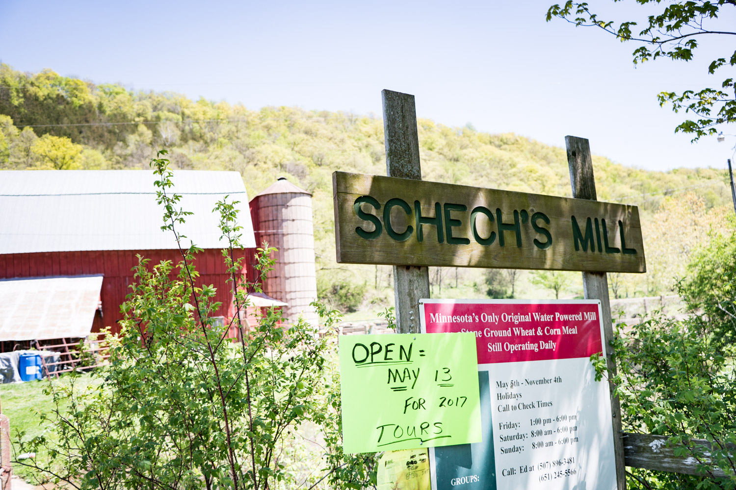 Schech's Mill in Caledonia, Minnesota, is a four-generation water-powered operation // Photo by Kevin Kramer, The Growler