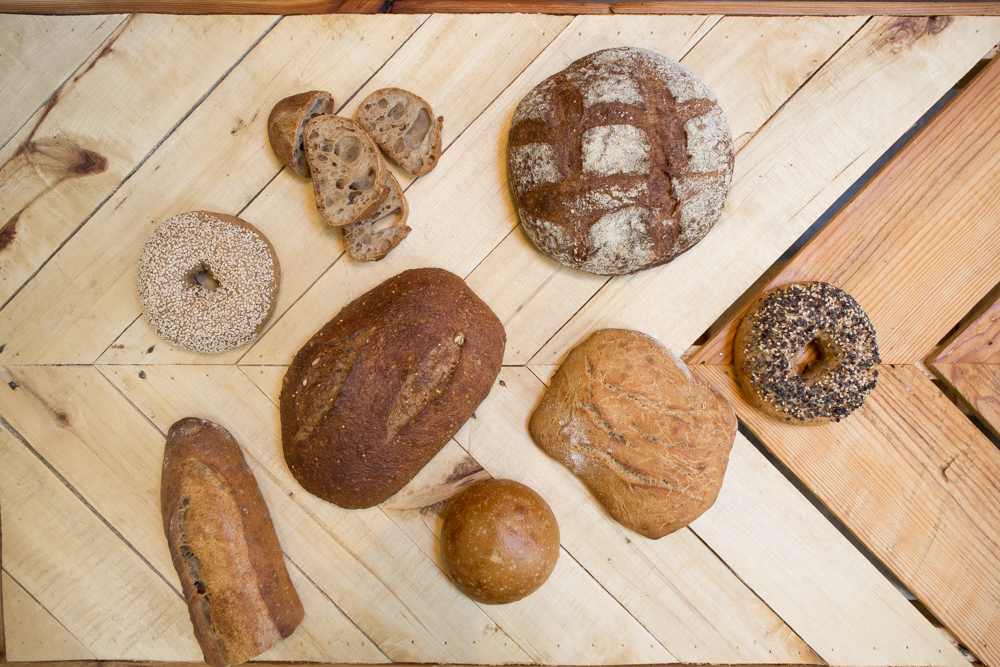 Breads baked at Baker's Field in Northeast Minneapolis // Photo by Wing Ta