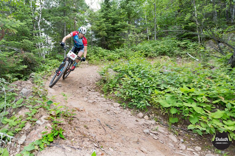 Duluth has become a premier mountain biking destination in the Midwest // Photo courtesy of COGGS