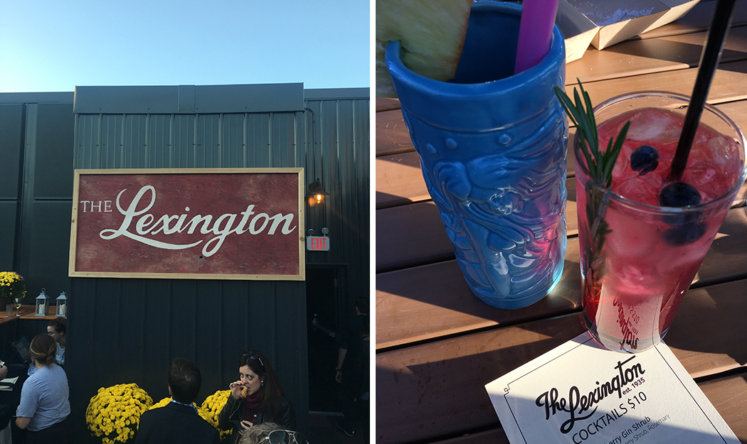 The food and drink menu on The Lexington's rooftop patio is Polynesian-inspired // Photos by Joseph Alton