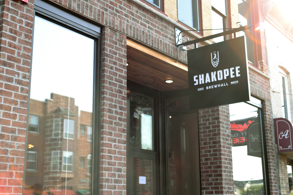 Shakopee Brewhall opened its doors on September 14 in downtown Shakopee // Photo by Katelyn Regenscheid
