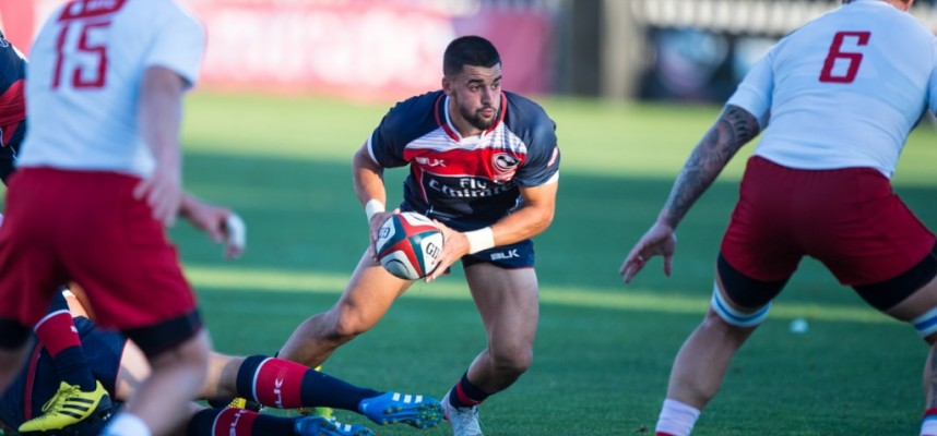 Nate Augspurger of USA Rugby // Photo by David Barpal