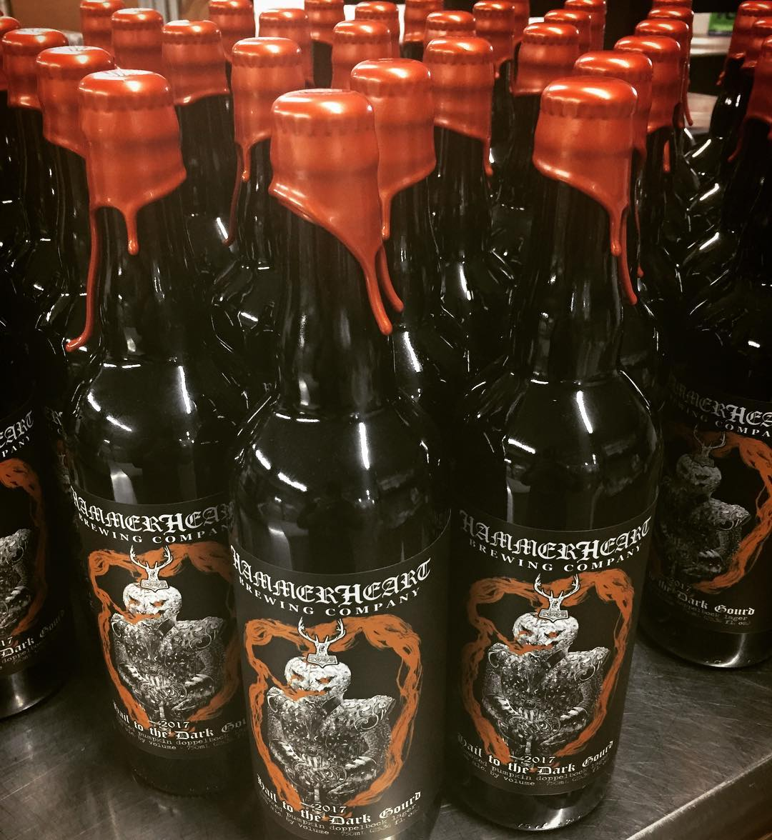 Hammerheart Hail to the Dark Gourd is available this weekend // Photo via HammerHeart's Instagram