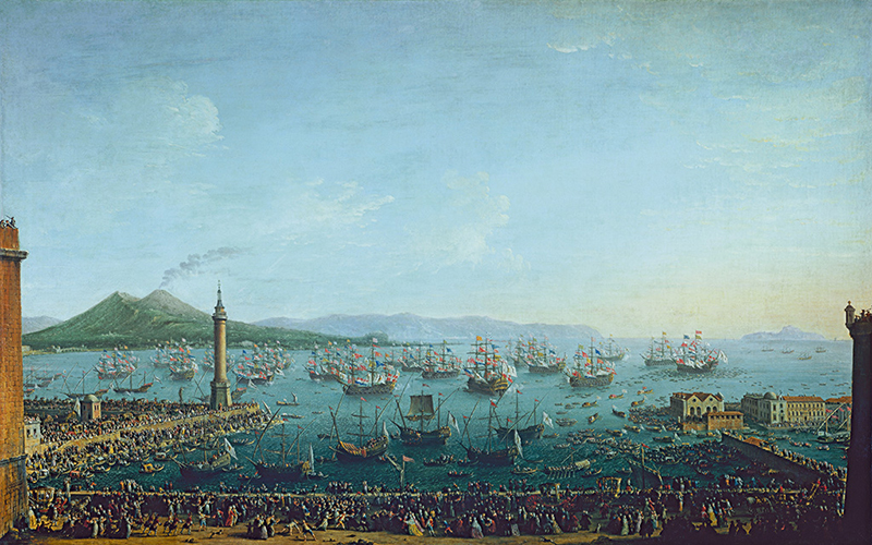 The Departure of Charles III from Naples to Become King of Spain, 1759