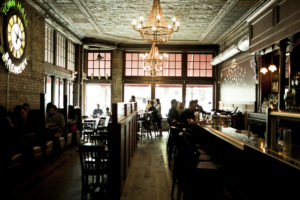 The interior of the Town Hall Brew Pub // Photo by Aaron Davidson