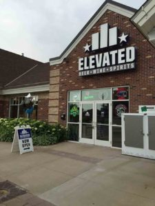 The Elevated Beer Wine and Spirits store in White Bear Lake, MN // Photo via Elevated WBL Facebook