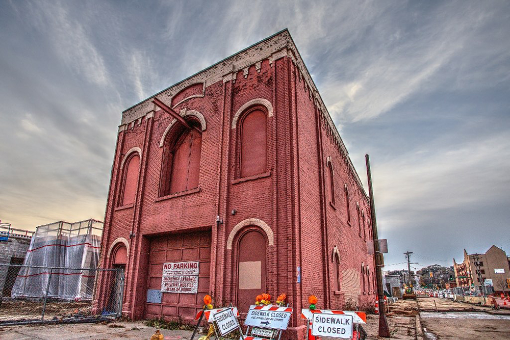 The future home to a new wine bar on West 7th. The building served as a firehouse and was built in the 1870's. // Photo courtesy of the St. Paul Real Estate Blog