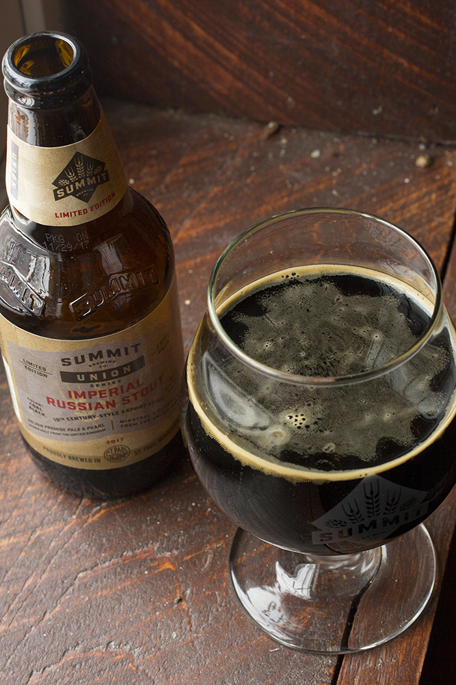 Summit Union Series Imperial Russian Stout // Photo by Brian Kaufenberg, The Growler