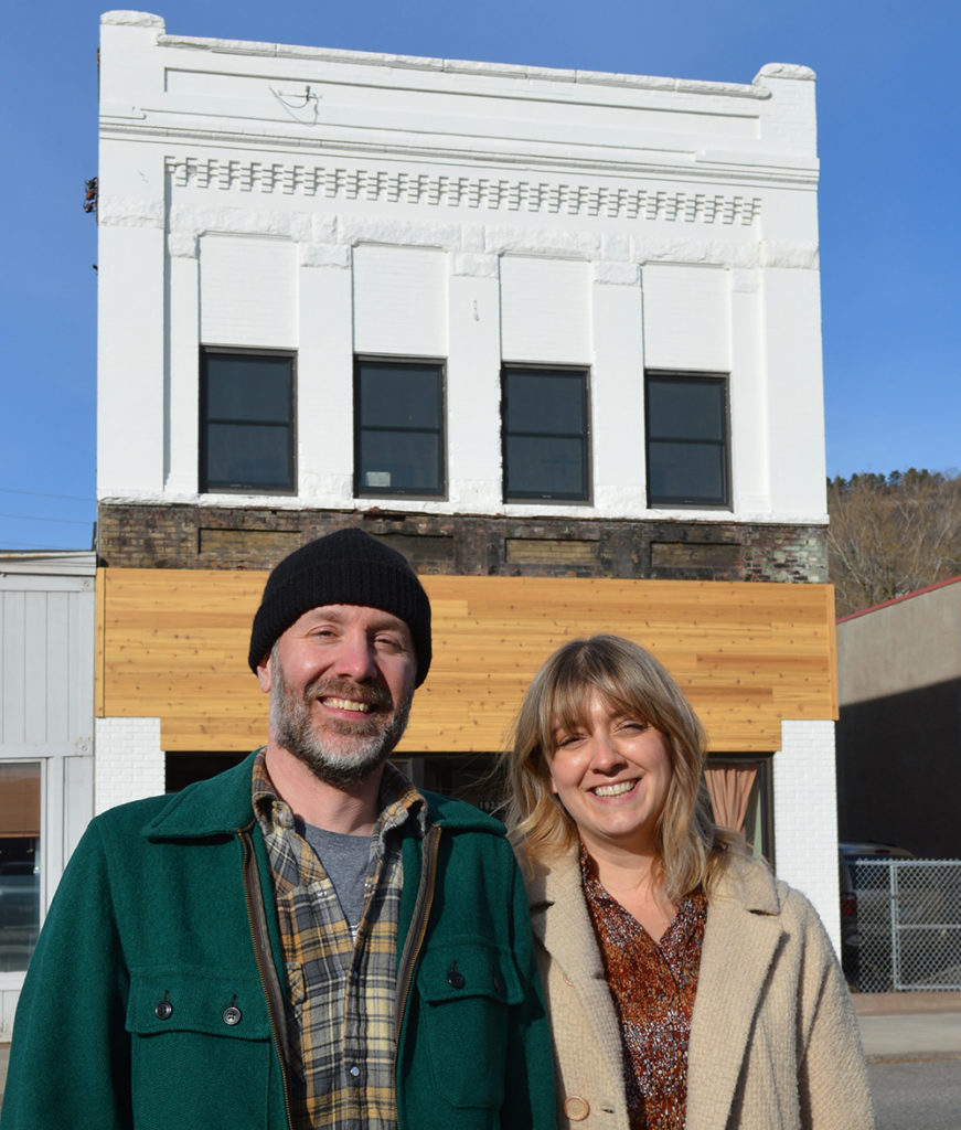 Andy Matson and Chelsy Whittington are planning to ope the boutique Hotel Pikku in Duluth, MN // Photo courtesy of PerfectDuluth