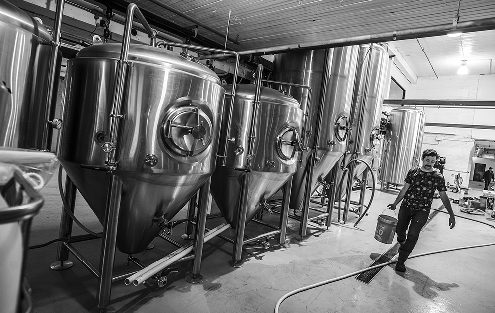 The Marz Brewing Company Brewery // Photo courtesy Marz Brewing Company