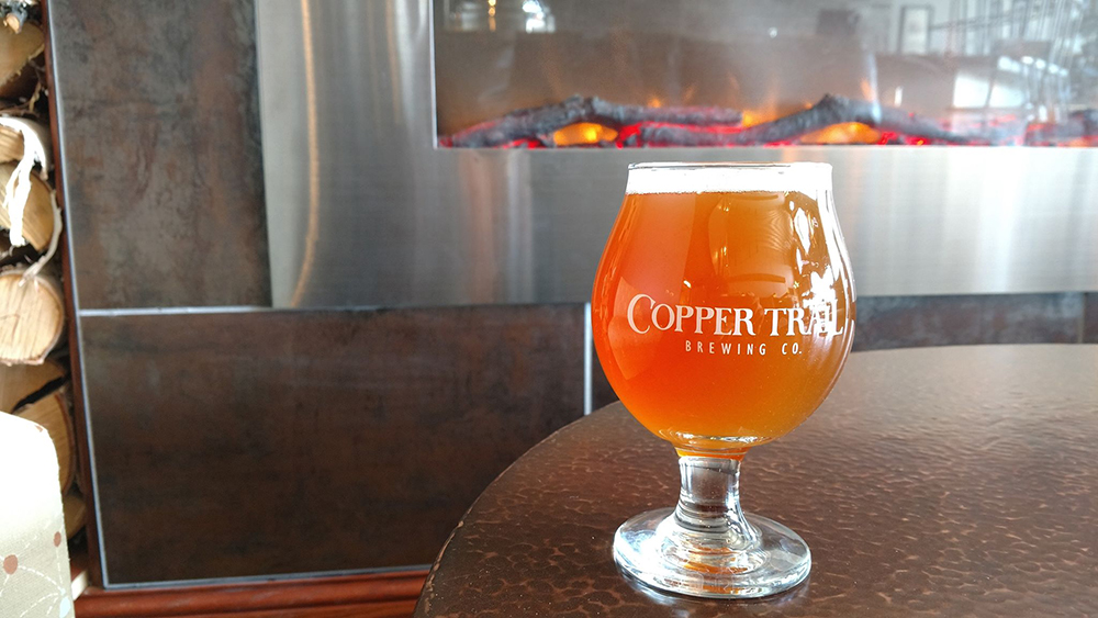 Copper Trails Chenterelle Belgian Workhouse // Photo courtesy Copper Trail Brewing Company Facebook