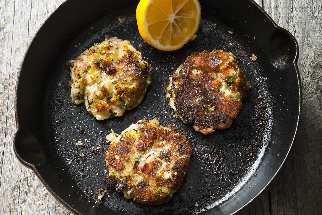 Beth Dooley's smoke whitefish cakes // Photo by Mette Nielsen