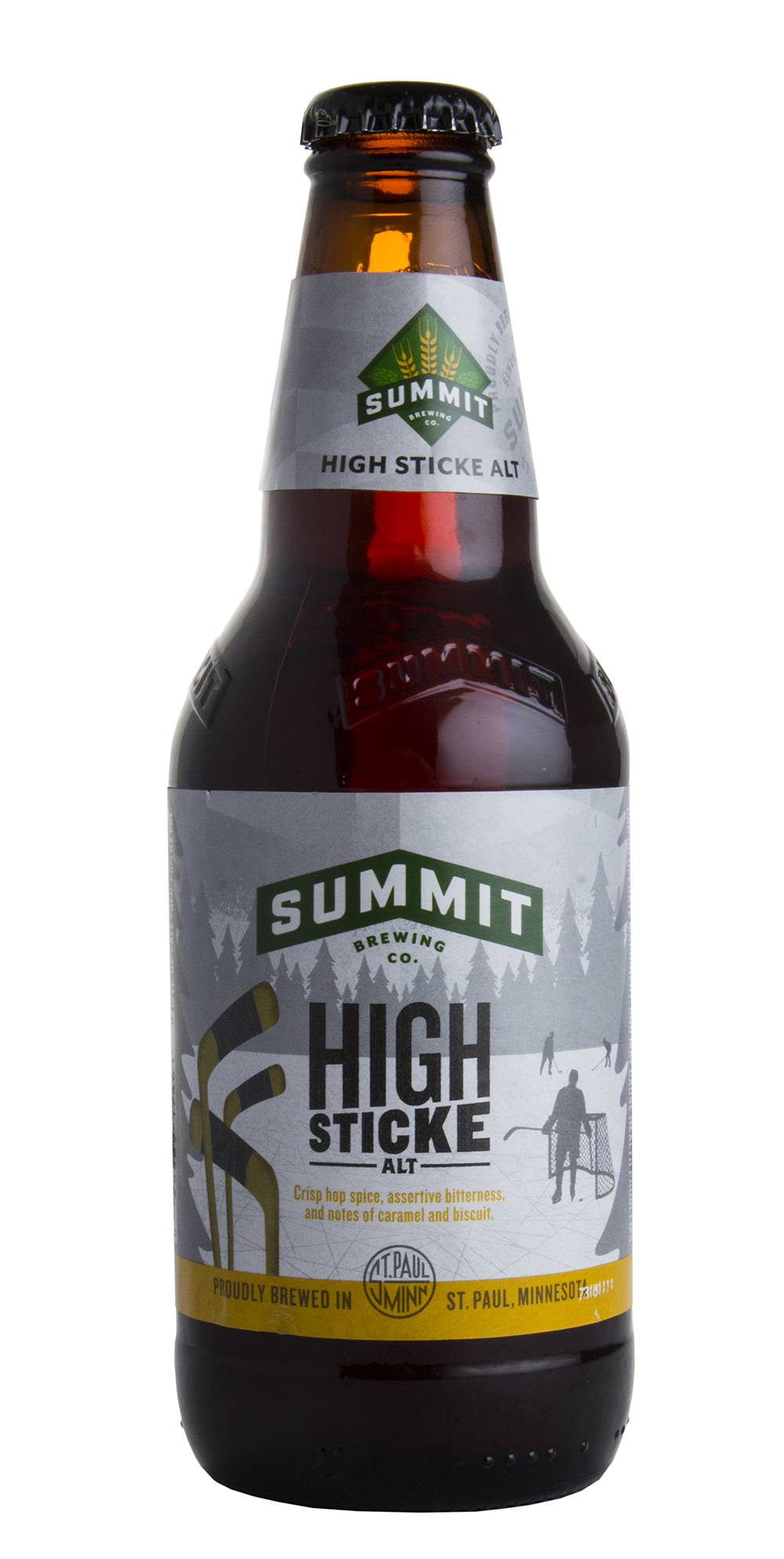 Summit Brewing Company's High Sticke Alt // Photo by Aaron Job, The Growler