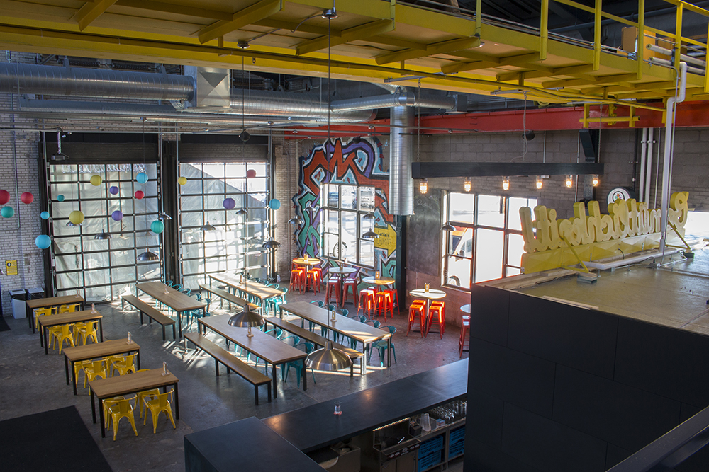 BauHaus Brew Labs newly renovated taproom // Photo by Aaron Job