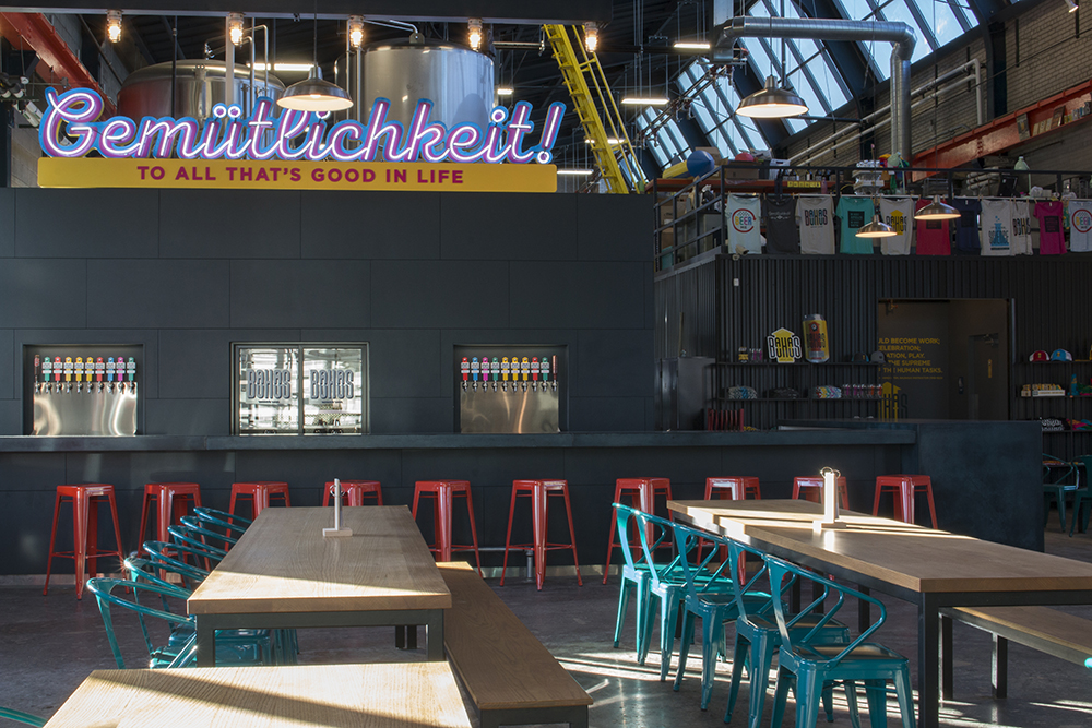 Bauhaus Brew Labs' newly renovated bar // Photo by Aaron Job, The Growler
