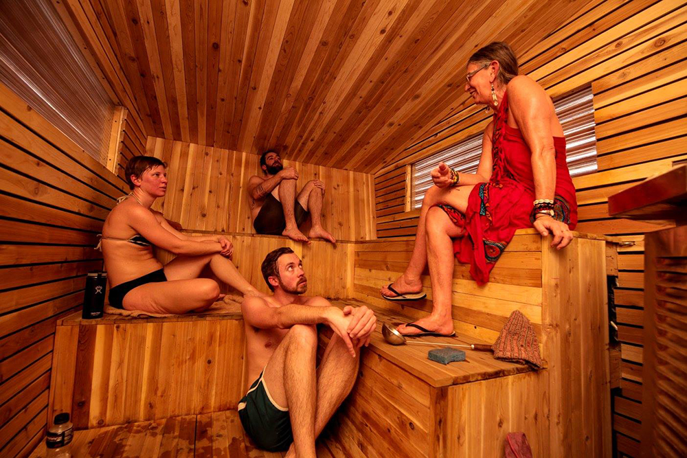 Little Box Sauna // Photo by River Otter, courtesy Little Box Sauna