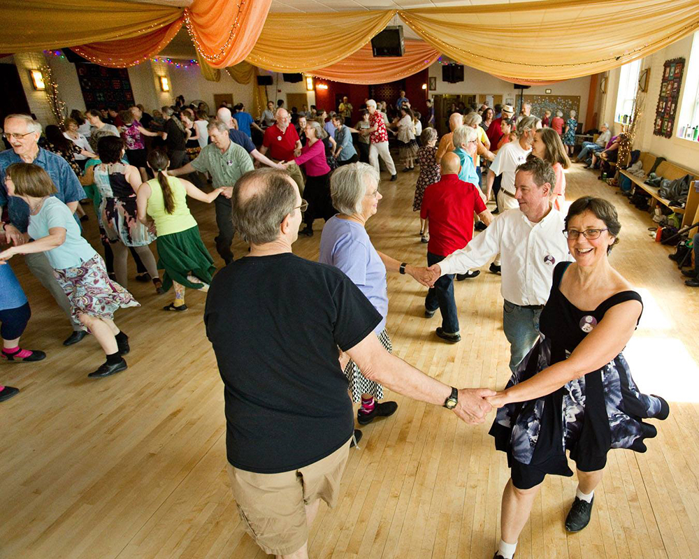Folks Folkdancing // Photo courtesy Tapestry Folkdance Center Facebook