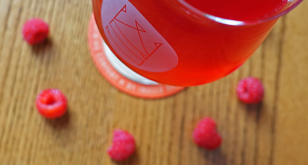 Indeed Brewing Company's In The Thicket Raspberry Golden Sour Ale // Photo via Indeed Brewing Company Facebook