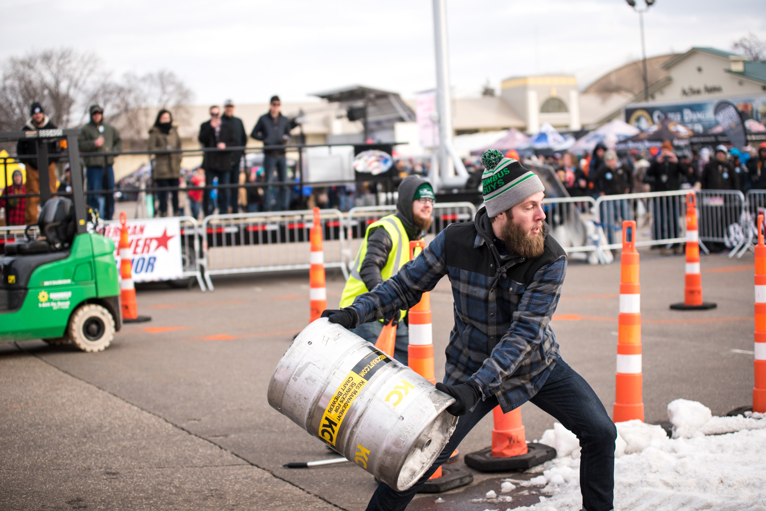 Rhombus Guys participating in the 2017 American Brewer Warrior // Photo by Kevin Kramer