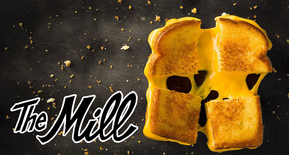 A grilled cheese sandwich // Photo via All Square Facebook