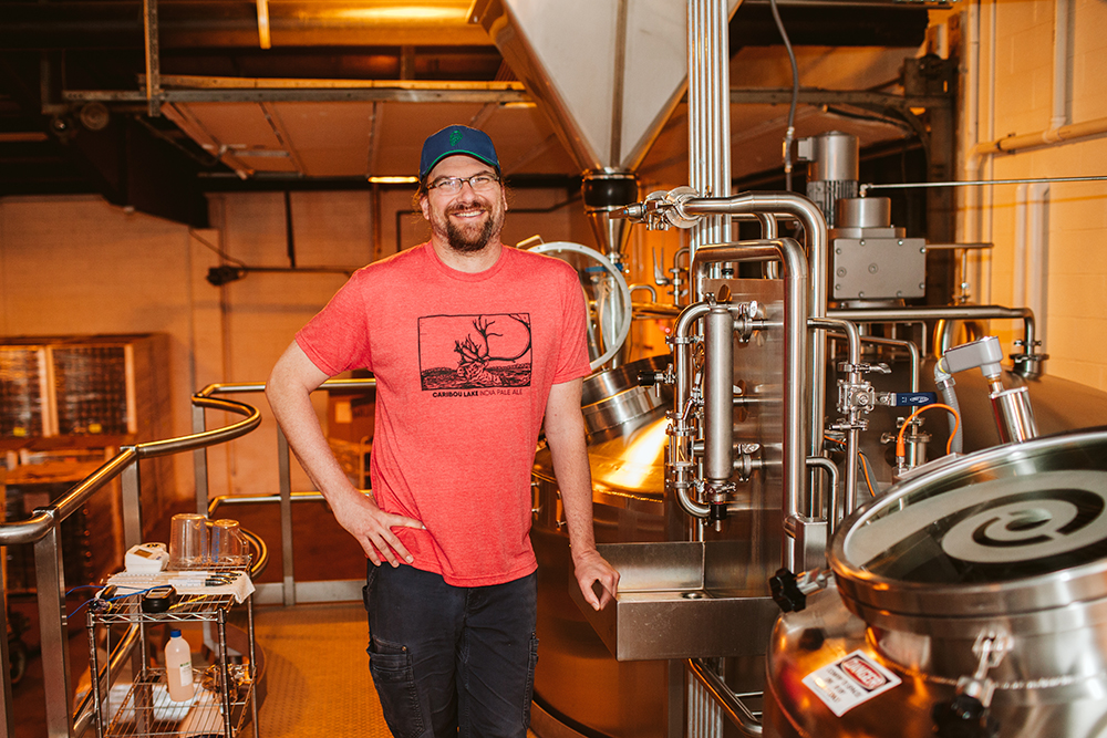 Frank Kaszuba, director of brewing operations at Earth Rider Brewery // Photo by JaneCane Photography