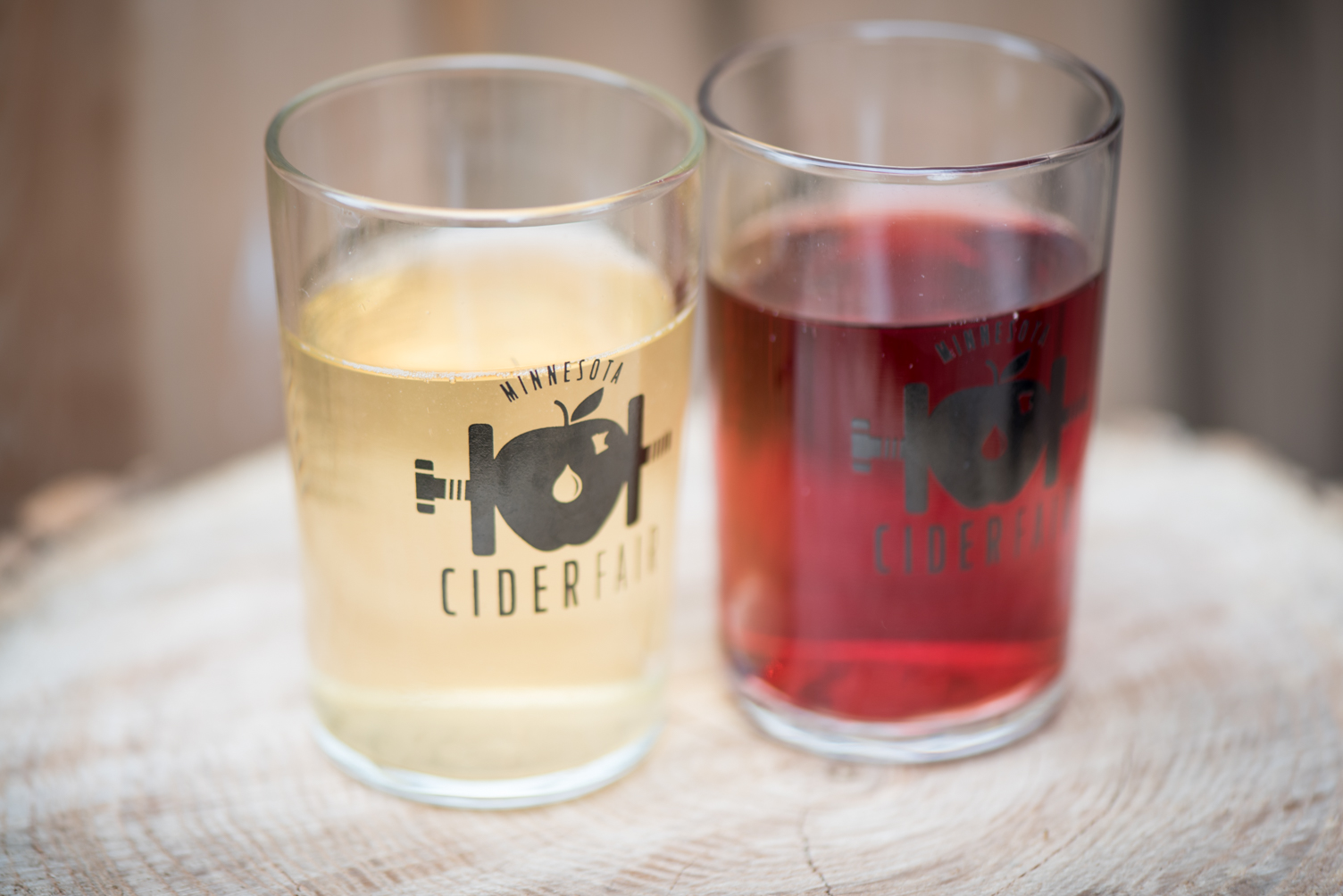 Glasses of cider // Photo by Kevin Kramer