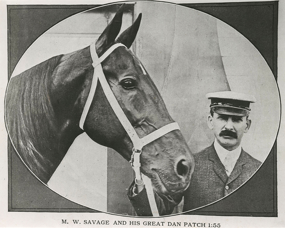Dan Patch, left, with Marion Savage on the right // Photo courtesy Minnesota Historical Society