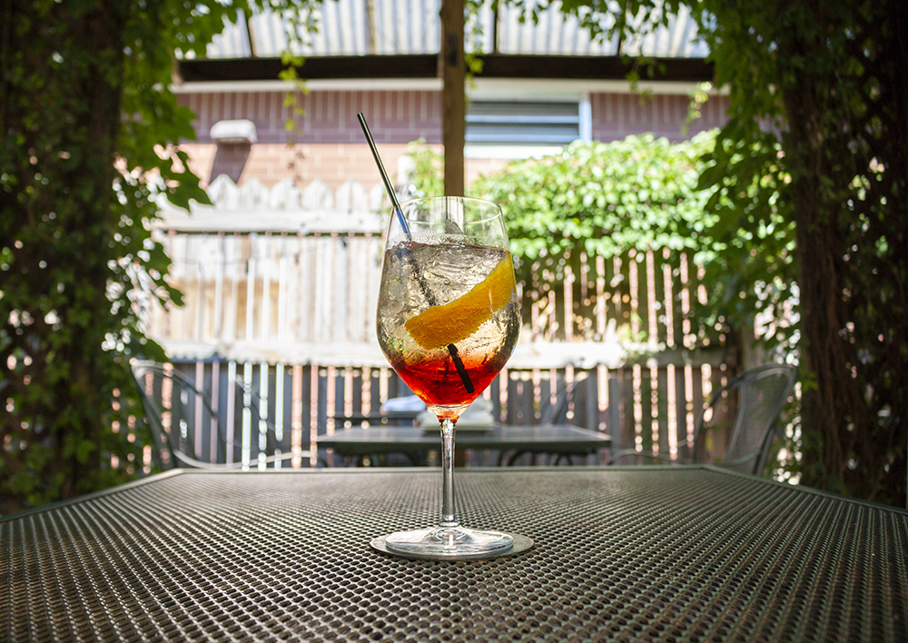 A Spritz at The Bungalow Club on East Lake Street in Minneapolis, Minnesota // Photo by Aaron Job
