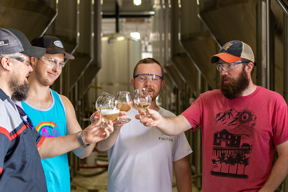 Photo courtesy Fulton Beer and Left Hand Brewing Company