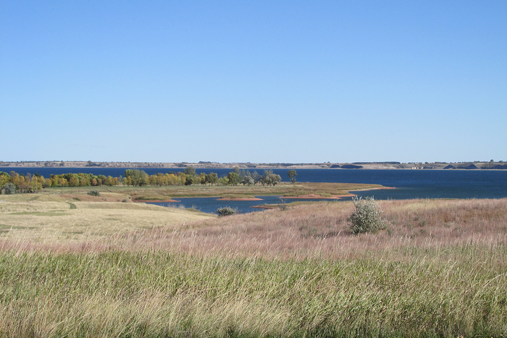 Lake Sakakawea State Park // Photo courtesy North Dakota Parks Department