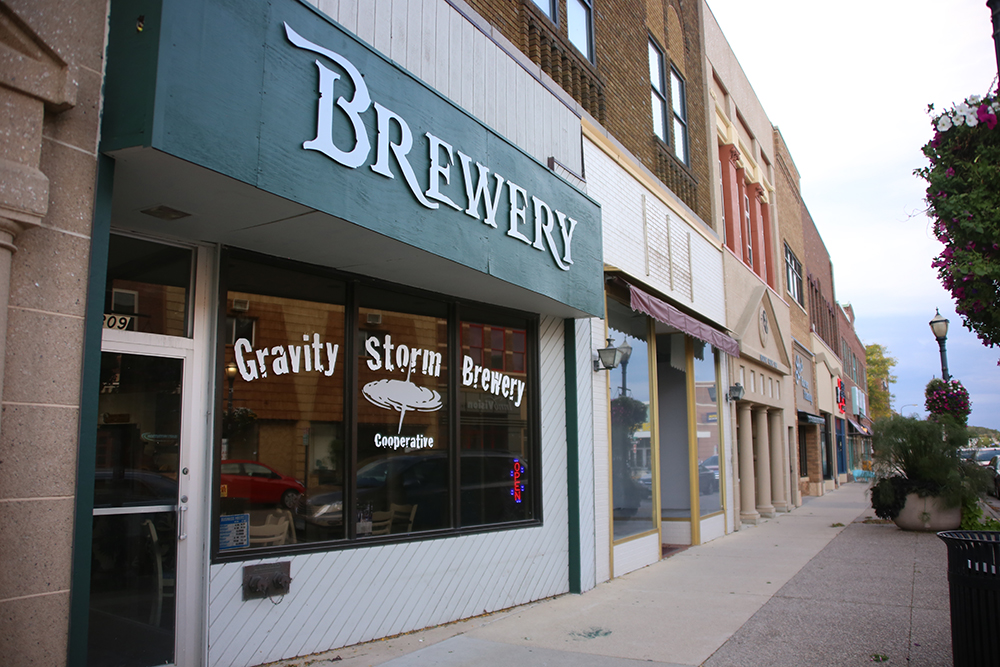 Gravity Storm Brewing Cooperative in Austin, Minnesota is just one of the small town breweries to open in 2018 // Photo by Louis Garcia