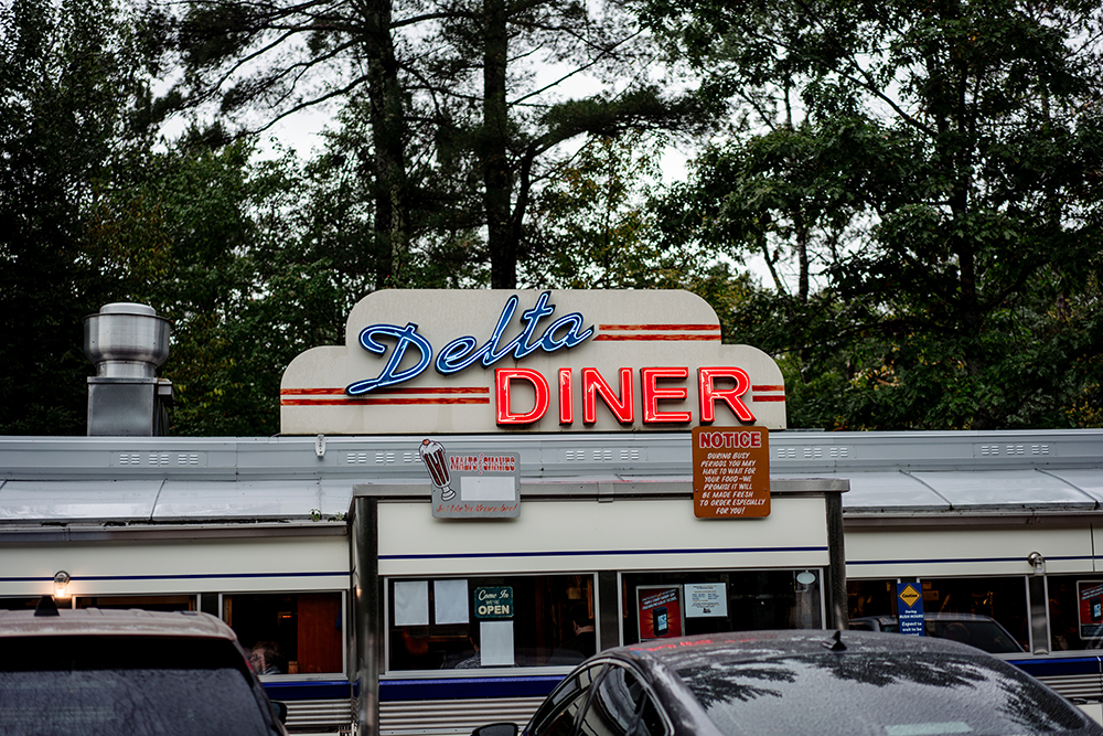 Delta Diner outside of Ashland, Wisconsin // Photo by Becca Dilley