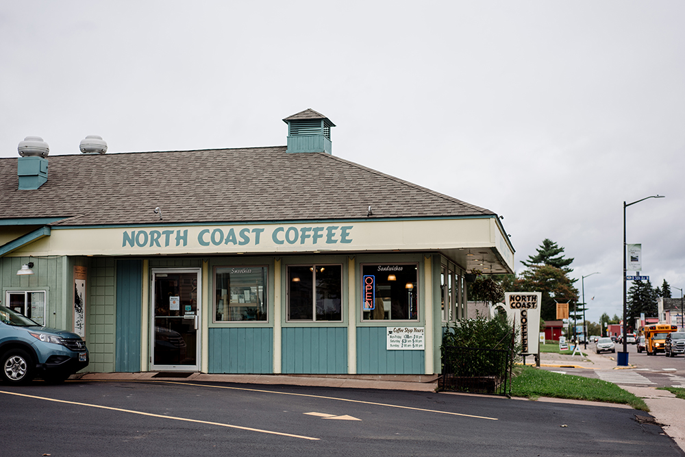 The North Coast Coffee shop // Photo by Becca Dilley