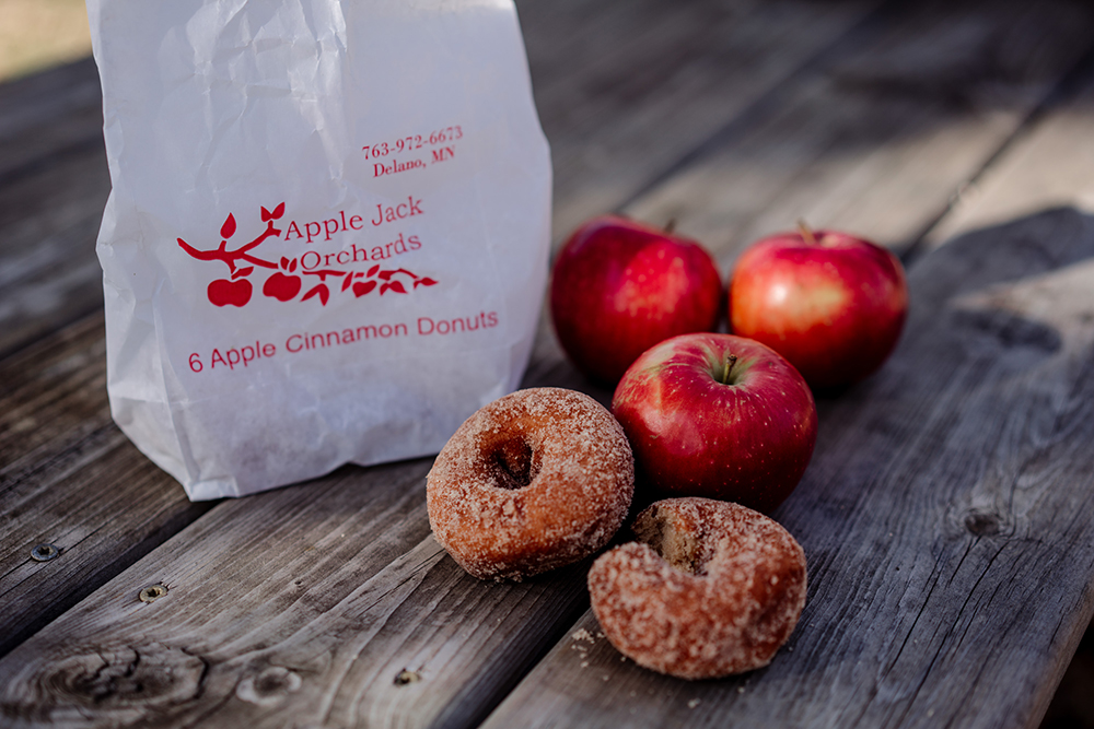 Apple Cider Doughnuts from Apple Jack Orchard // Photo by Becca Dilley