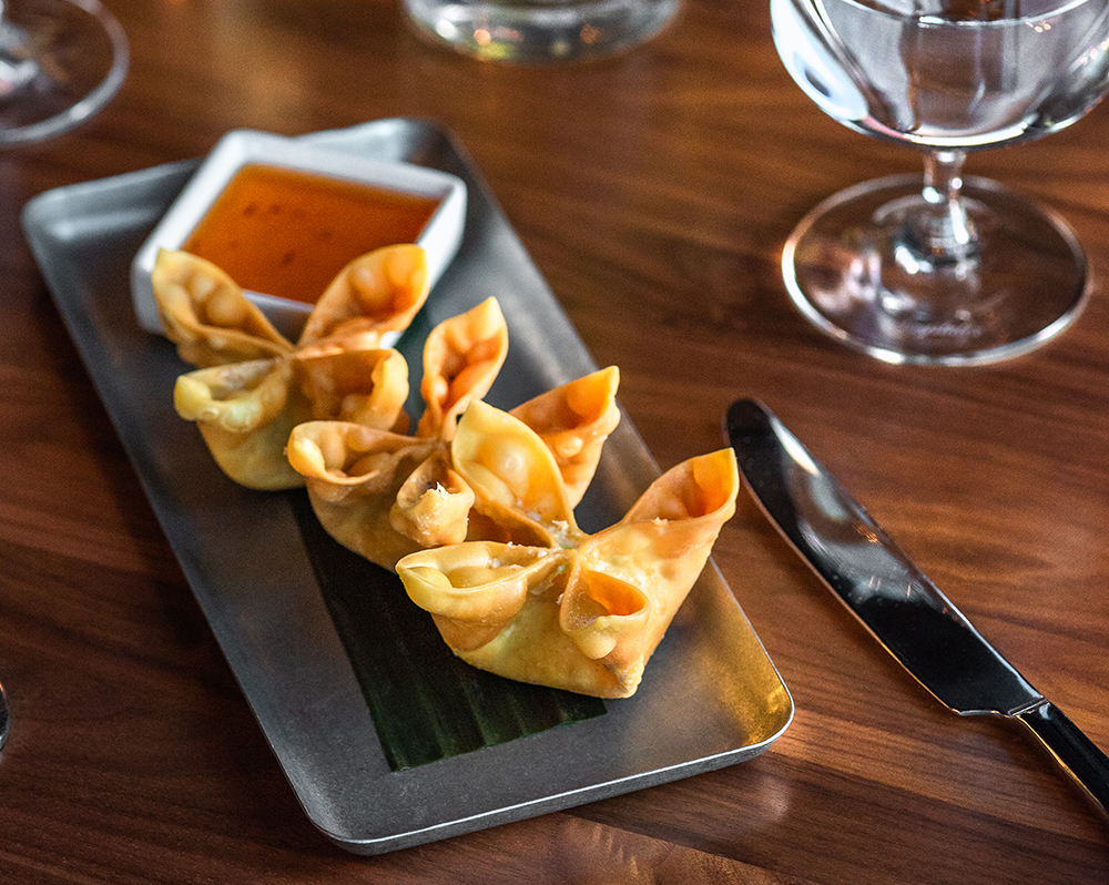 Snow Crab Wontons // Photo by Kevin Kramer