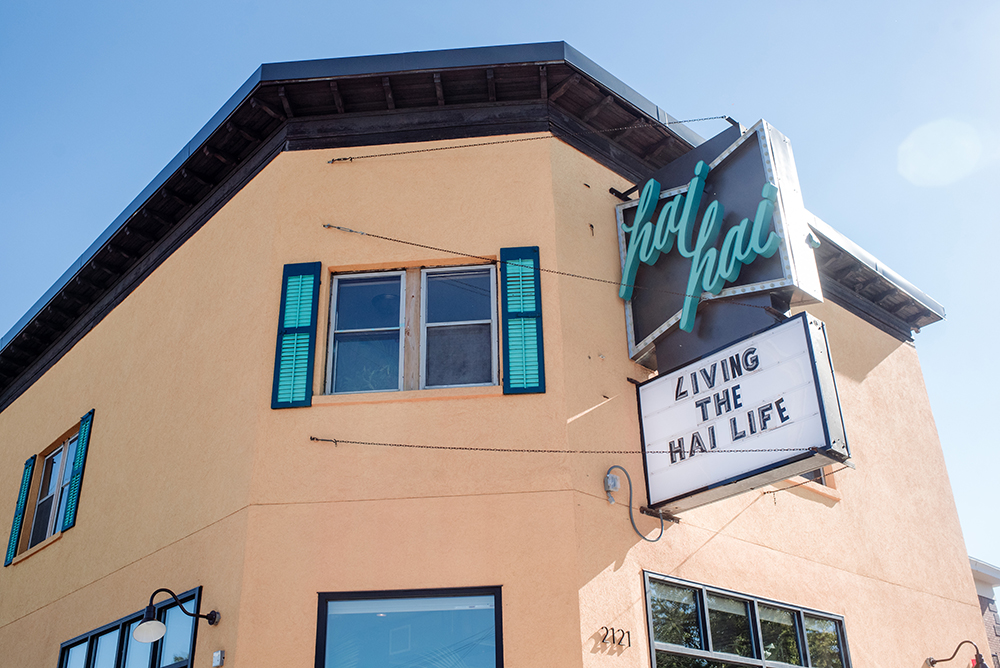 The exterior of Hai Hai, at the corner of University Avenue and 22nd Avenue Northeast // Photo by Becca Dilley