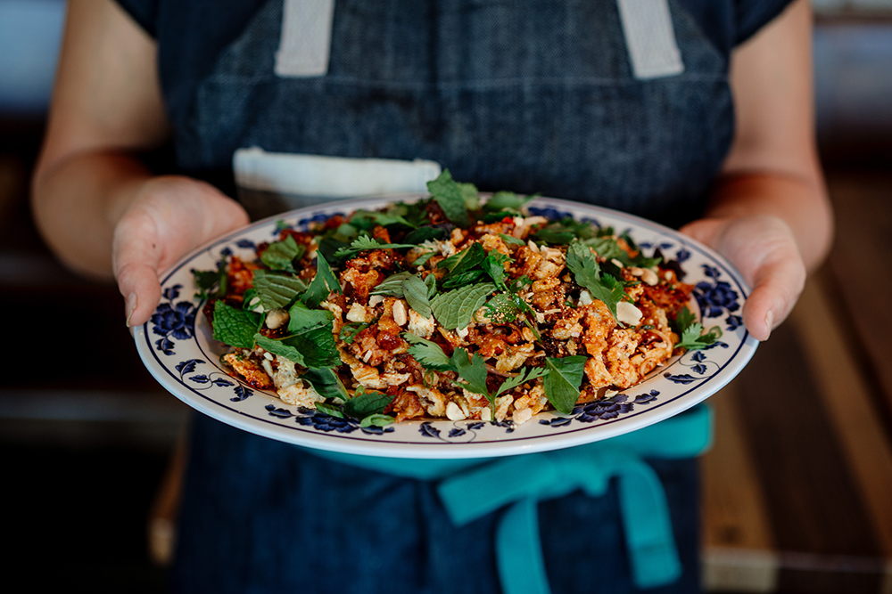 Omelette Larb // Photo by Becca Dilley