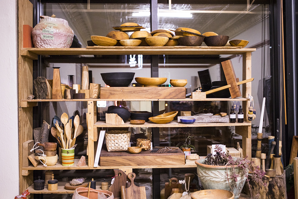 Some of the products made at Women's Woodshop in Minneapolis // Photo by Tj Turner