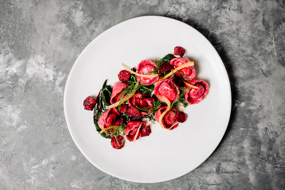 Beet Pasta // Photo by Becca Dilley