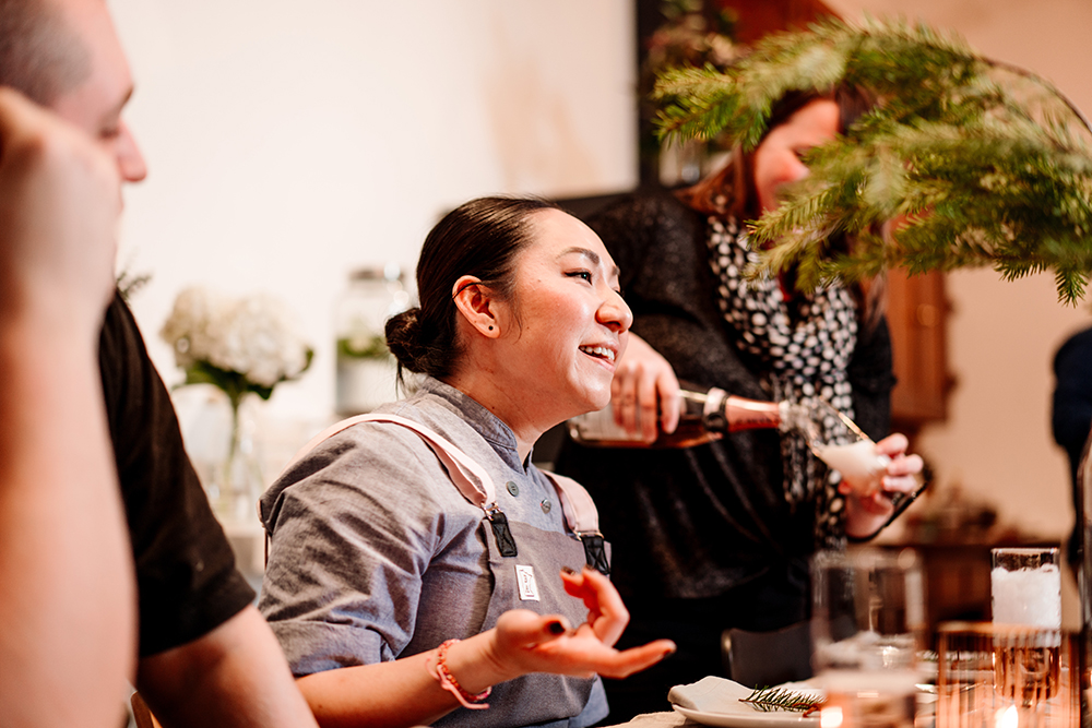 Ann Ahmed of Lat14 shares why communal dining is a powerful experience // Photo by Becca Dilley