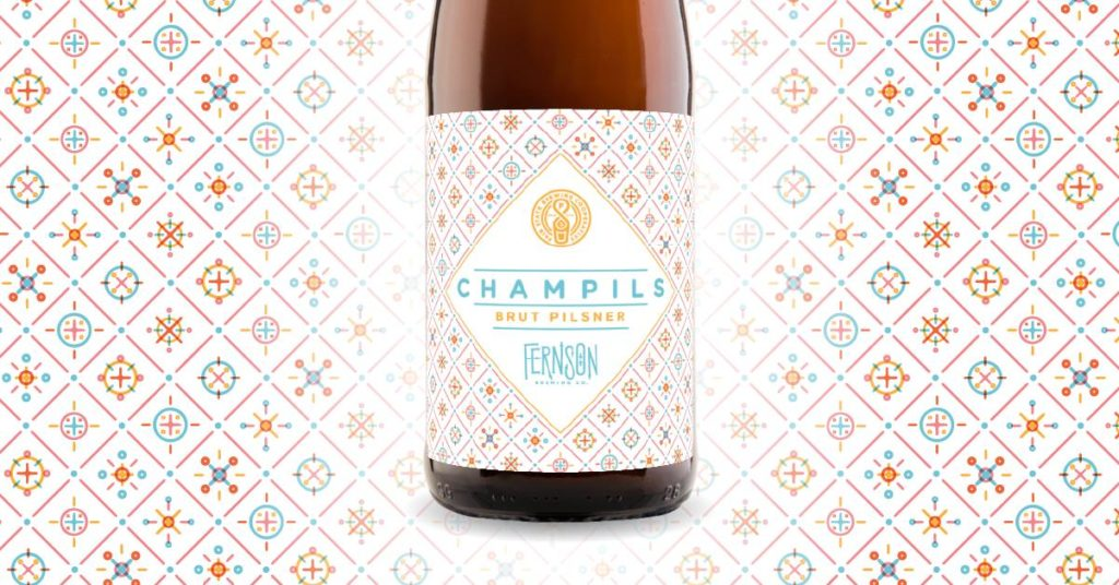Fernson Brewing Company's ChamPils // Photo via Fernson Brewing Company Facebook