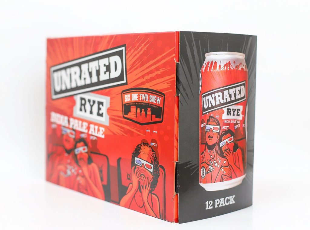 612Brew Unrated Rye IPA // Photo via 612Brew Twitter