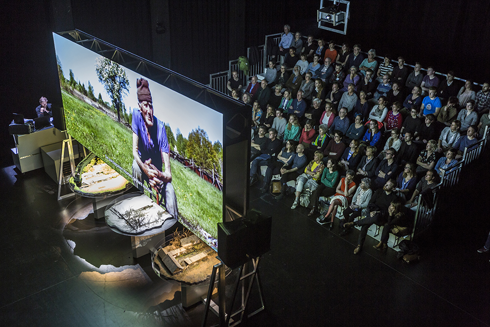 Berlin: Zvizdal [Chernobyl, so far—so close] is one of the performances in Out There 2019, which is themed on the transnational and transdisciplinary // Photo by Frederik Buyckx, via the Walker Art Center website